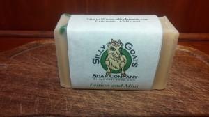 Lemom-Mint zinger of a soap!