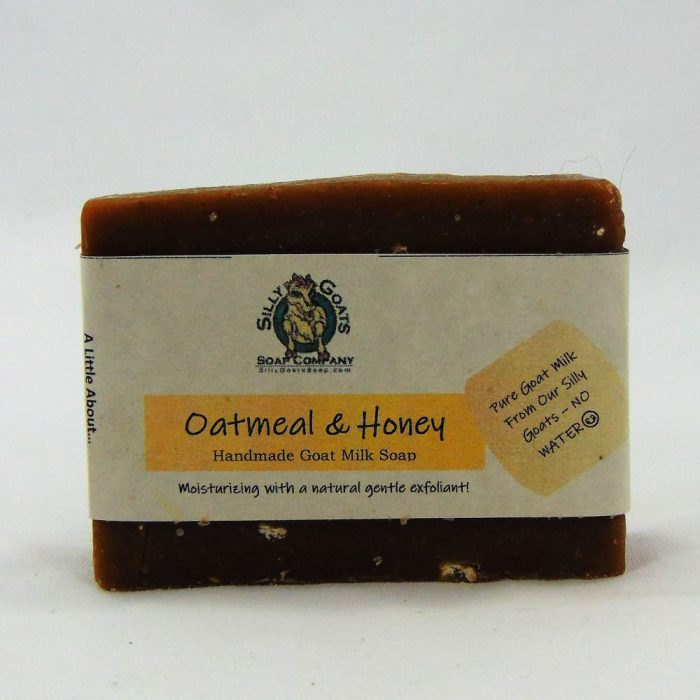 Oatmeal & Honey Handmade Goat Milk by Silly Goats Soap Co.