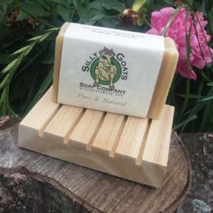 Cedar Soap Dish helps make soap last!