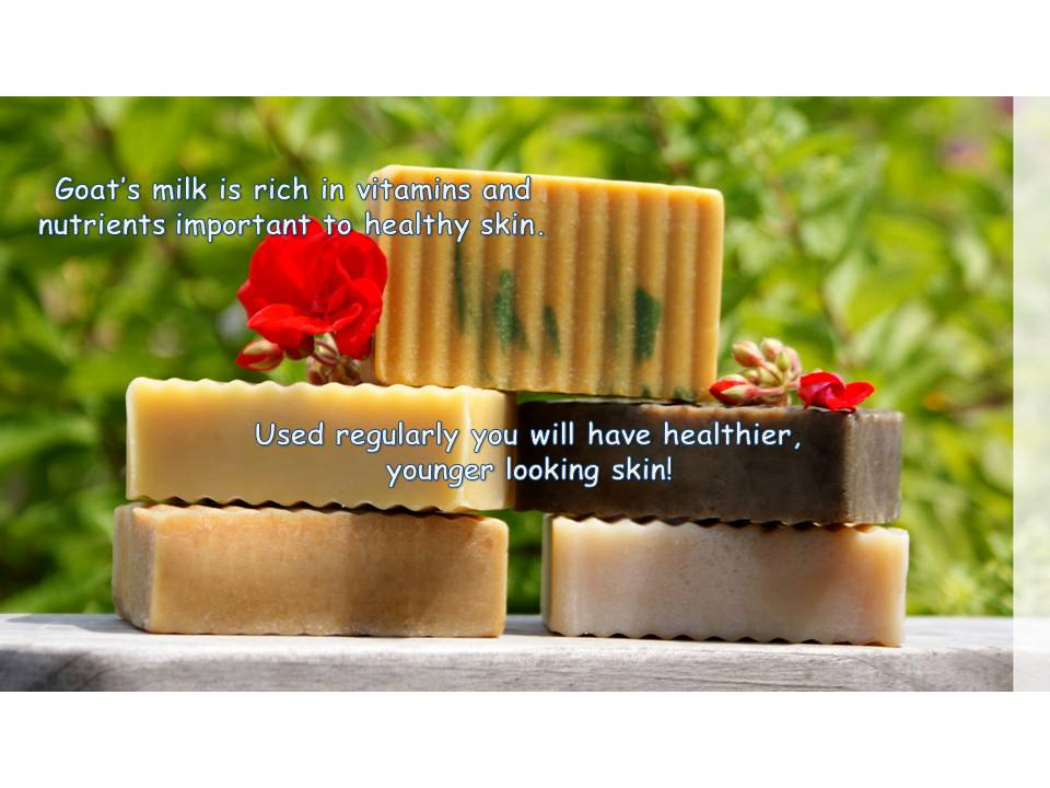 Often people with dry or sensitive skin, eczema, psoriasis, rosacea, or acne find relief with goat milk soap 2