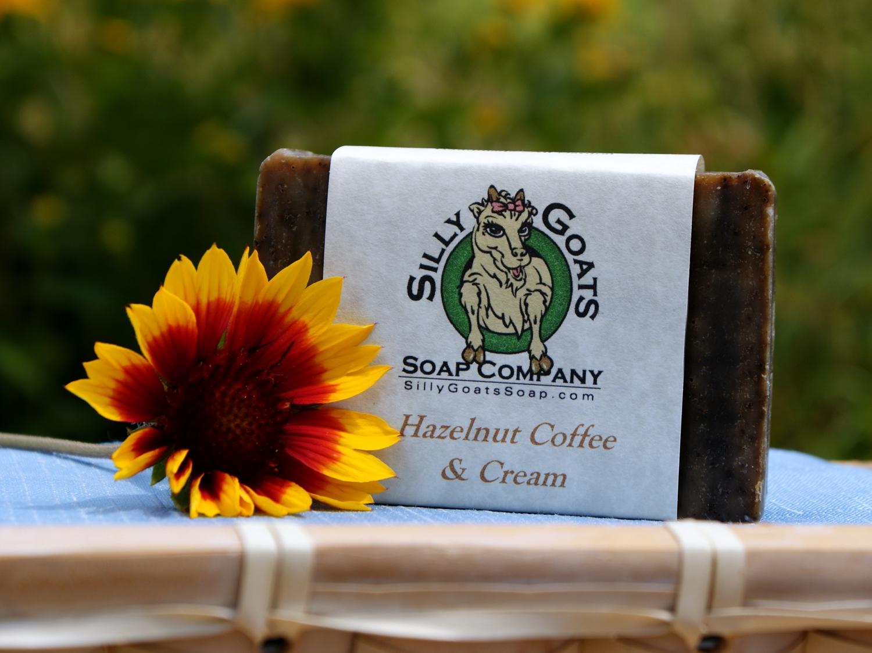 Hazelnut Coffee & Cream, Goats Milk Soap