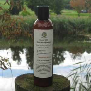Oatmeal Honey Lotion 8oz Bottle