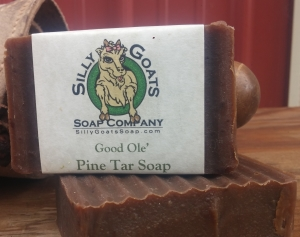 Pine Tar & Goats Milk Soap