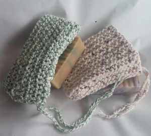 Sage and Desert Soap Bags