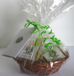 All Natural Goat Milk Soap and Lotion Gift Basket MedSideView