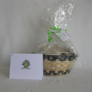 Natural Wicker Gift Basket