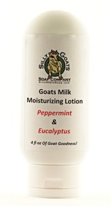 Peppermint & Eucalyptus Lotion 4oz