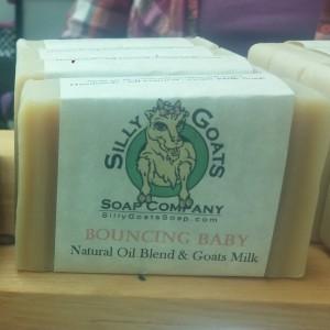 Bouncing Baby Bar - Goats Milk Soap