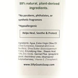 Natural Diaper Rash Cream Ingredients