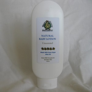 8 oz Bottle Natural Baby Lotion