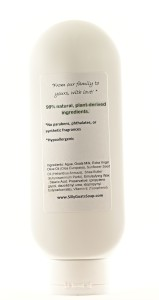 Natural Baby Lotion -Unscented Ingredients