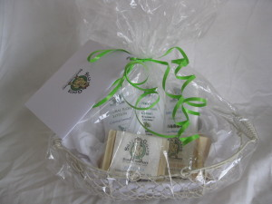 Baby Gift Basket Wrapped
