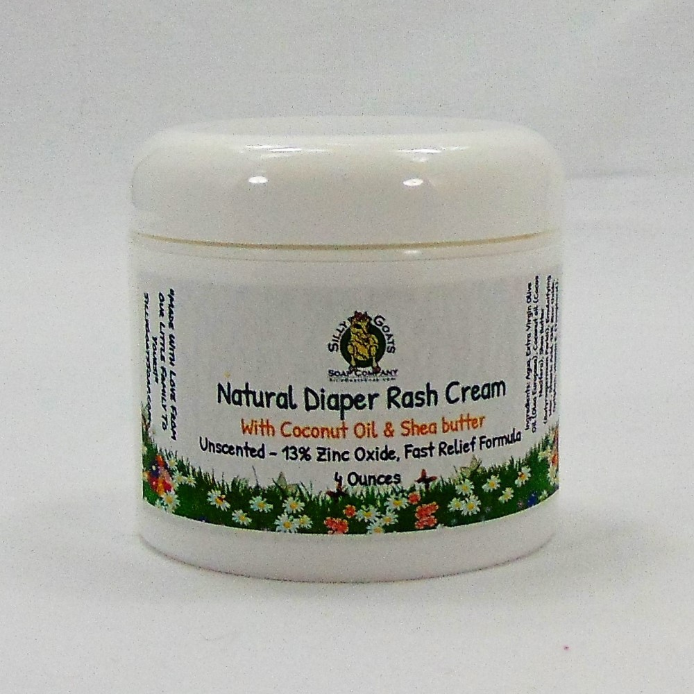 Diaper Rash Cream, by Silly Goats Soap Co.