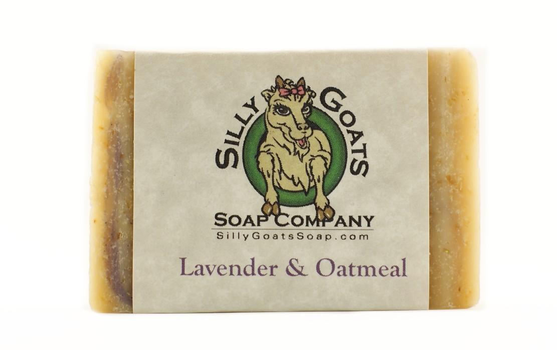Lavender & Oatmeal Goats Milk Soap