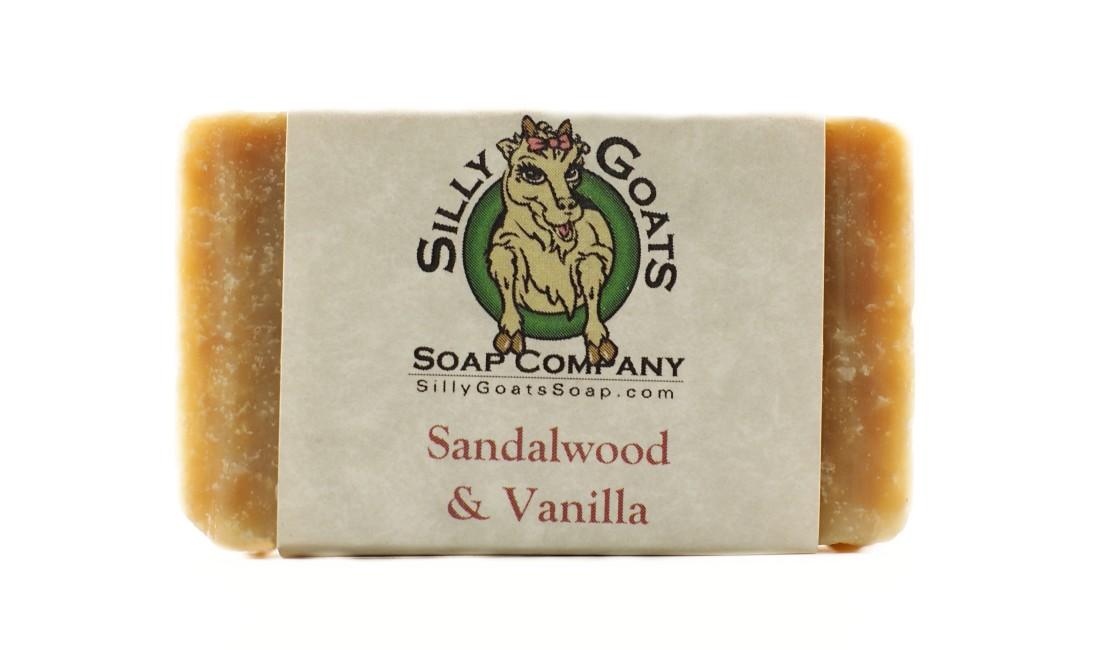 Sandalwood & Vanilla Goats Milk Soap