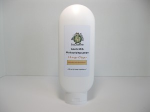 Orange and Ginger, Goat Milk Lotion 8oz