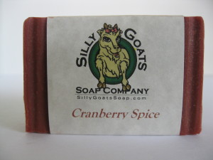 Cranberry Spice, Goat Milk Soap