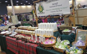 Silly Goats Soap Company @ Craft Show 2016