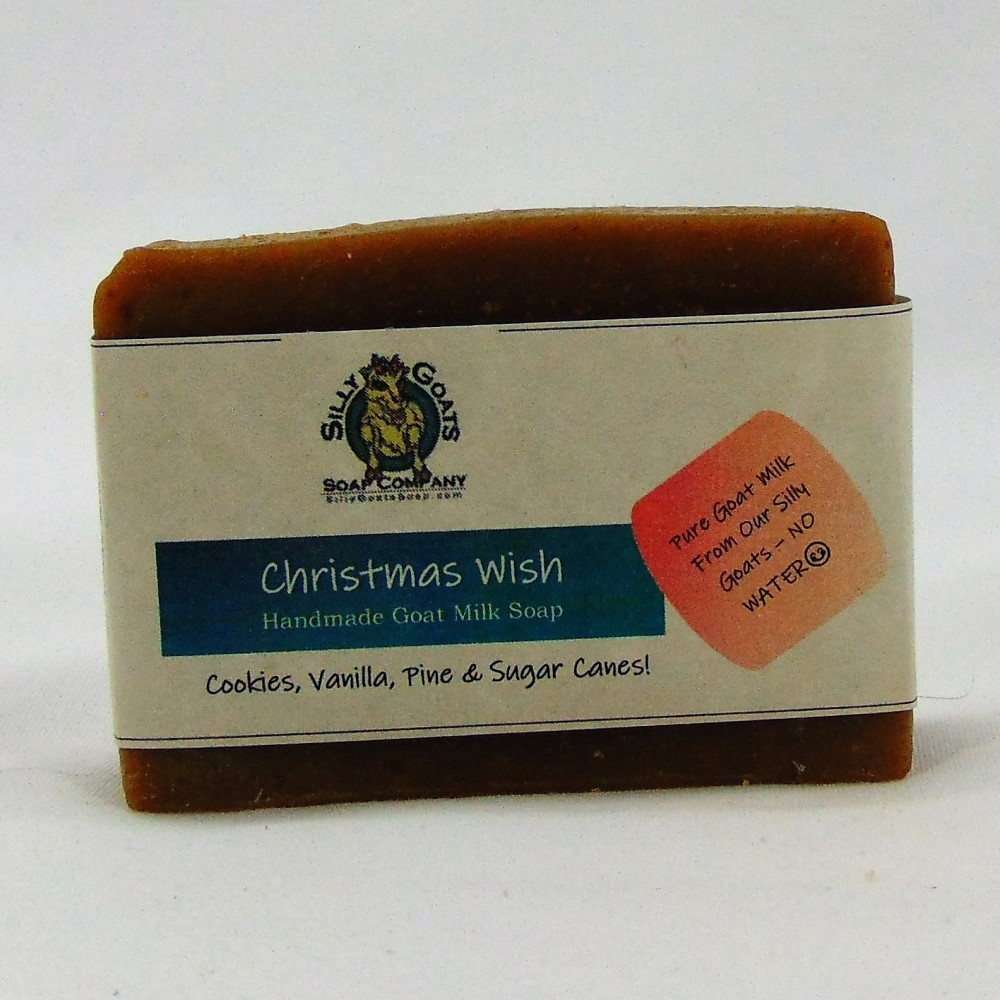 Christmas Wish Handmade Goat Milk by Silly Goats Soap Co.