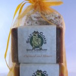 Goat Milk Soap Gift Bag With Soap Saver Bag