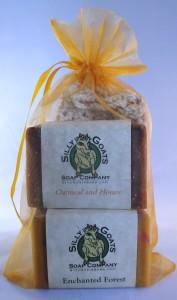 Goat Milk Soap Gift Bag With Soap Saver Bag