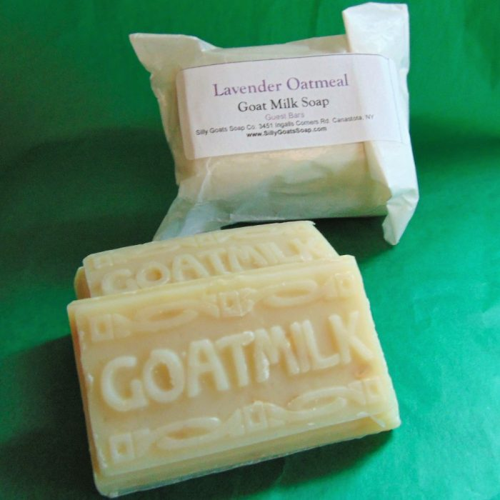 Goat Milk Soap Guest Bars - Silly Goats Soap Company -Duo