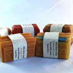 Silly Goats Soap Co. Goat milk Soap Guest Bars