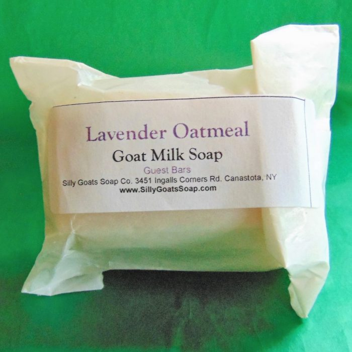 Goat Milk Soap Guest Soap Bars - Silly Goats Soap Company - Packs