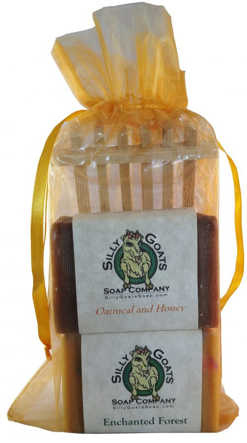Goat Milk Soap Gift Bag - Silly Goats Soap Company
