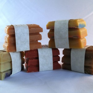 Silly Goats Soap Co. Goat milk Soap Guest Bars.