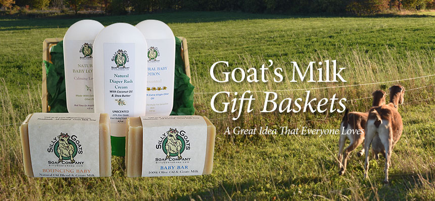 Goats Milk Gift Baskets