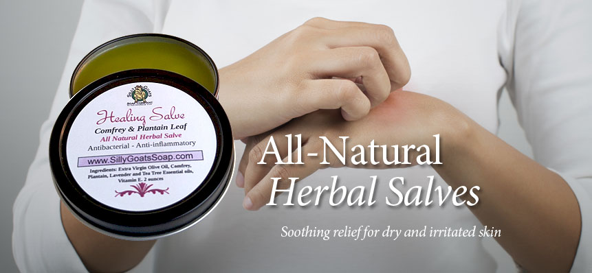 All Natural Herbal Salves