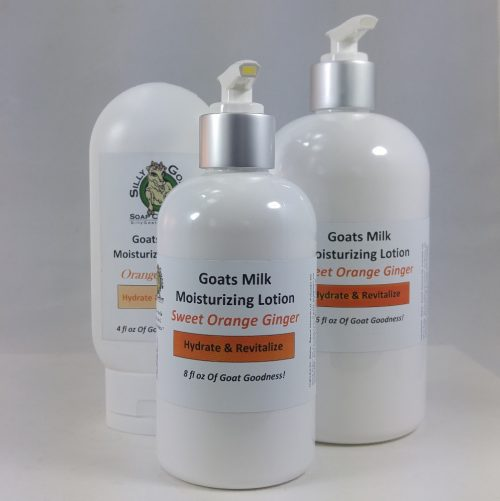 Goat Milk Lotion, Orange Ginger