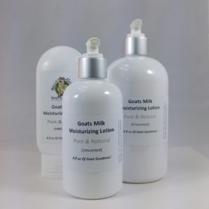 Goat Milk Lotion, Pure & Natural, Unscented Lotion Group