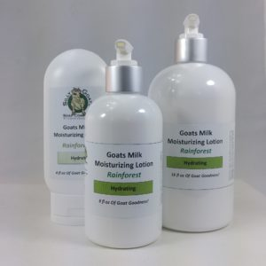 Goat Milk Lotion, Rainforest Lotion Group