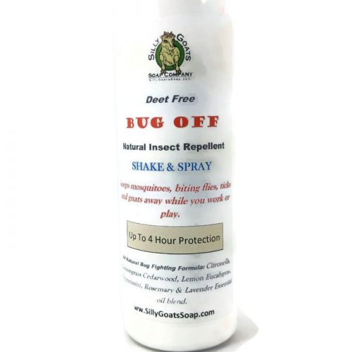 Silly Goats Soap Co. Bug Off. Mosquito Repellent, Insect Repellent