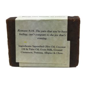 Cinnamon Spice Goat Milk Soap