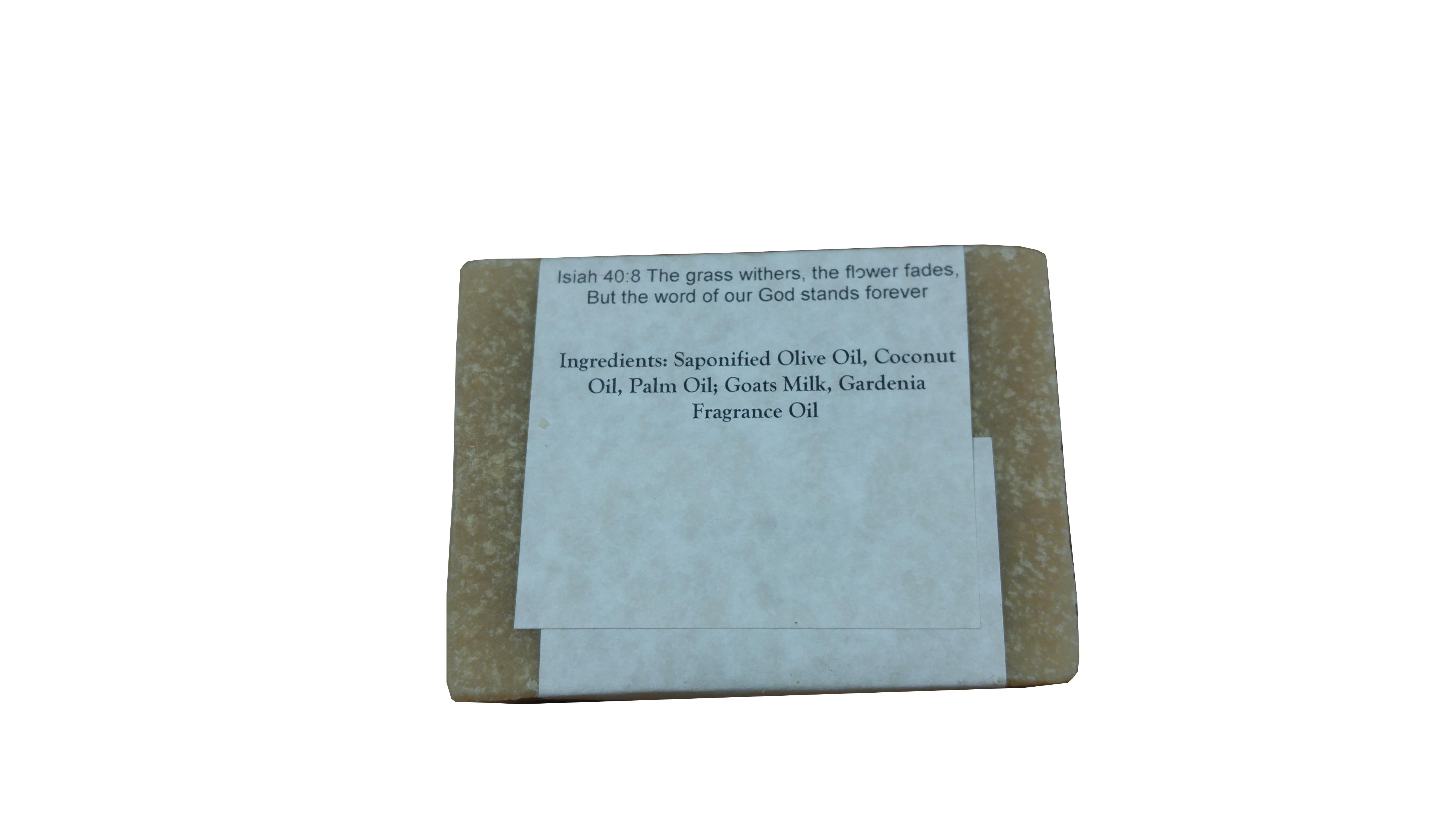Gardenia back - Silly Goats Soap Co.