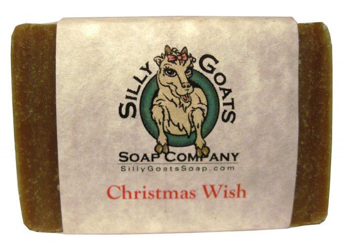 Christmas Wish Goat Milk Soap - Silly Goats Soap Company