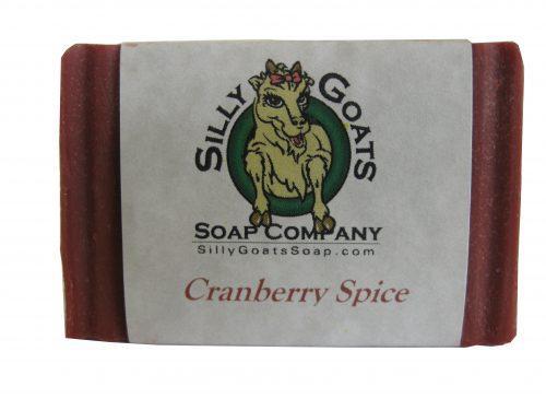Cranberry Spice Goat Milk Soap - Silly Goats Soap Company