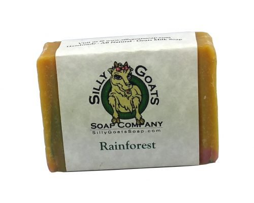 Rainforest Goat Milk Soap
