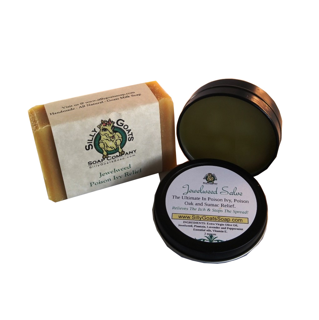 Poison Ivy Treatment – Jewelweed Goat Milk Soap. - Silly Goats Soap Company