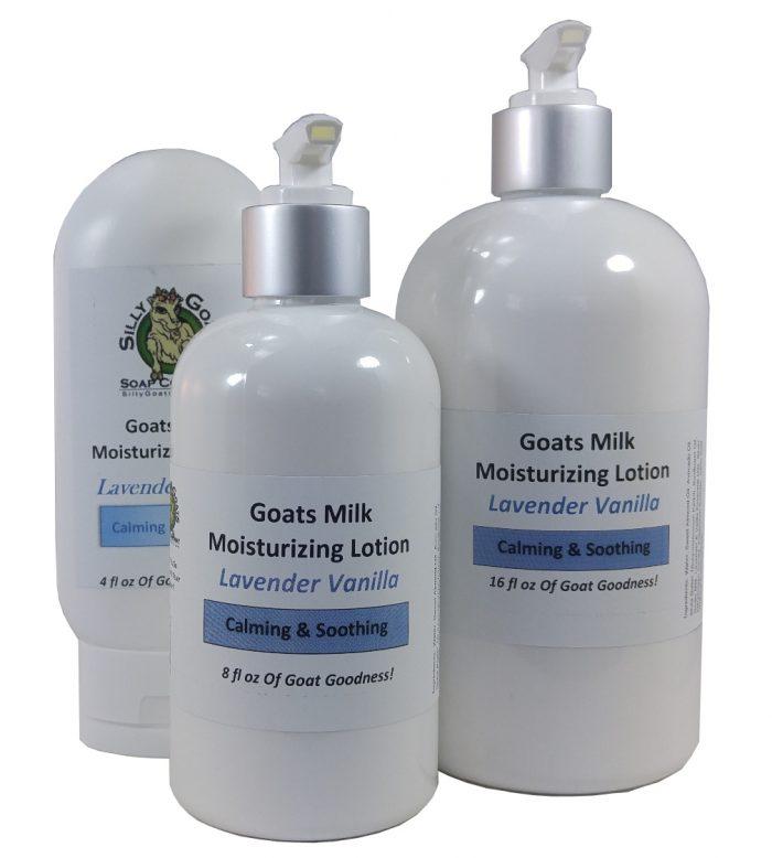 Lavender Vanilla Goat Milk Lotion - Lavender Vanilla Lotion