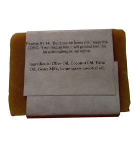 Lemongrass Goat Milk Soap Ingredients- Silly Goats Soap Company