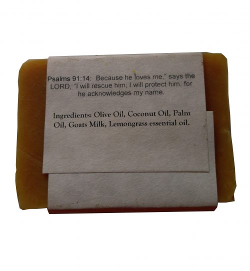 Lemongrass Goat Milk Soap Ingredients - Silly Goats Soap Company