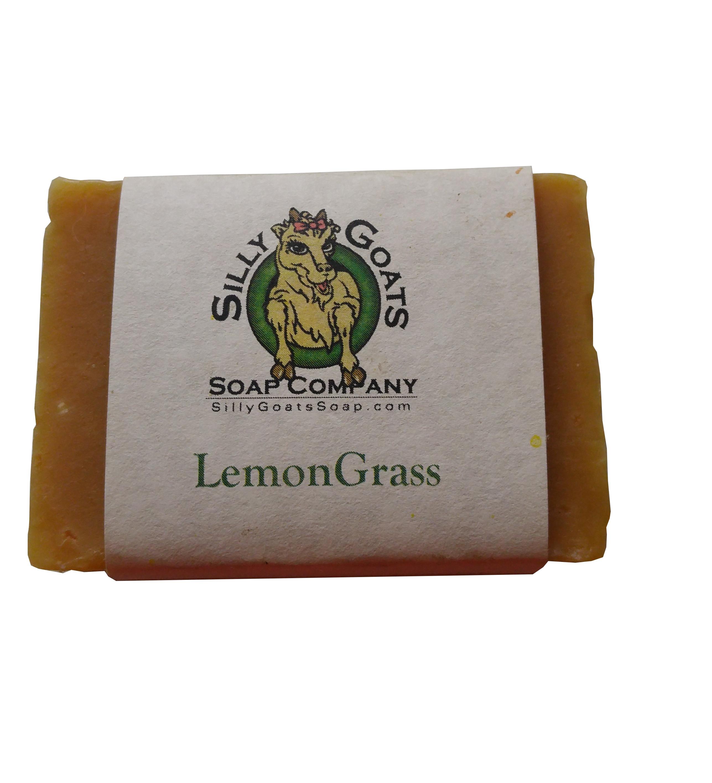 Lemongrass Goat Milk Soap- Silly Goats Soap Company