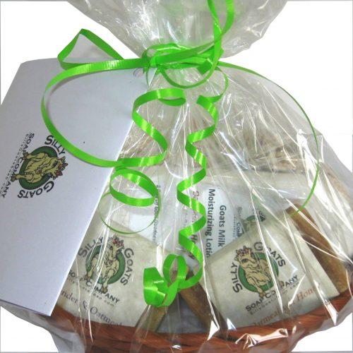 Goat Soap Gift Basket (medium) - Silly Goats Soap Company
