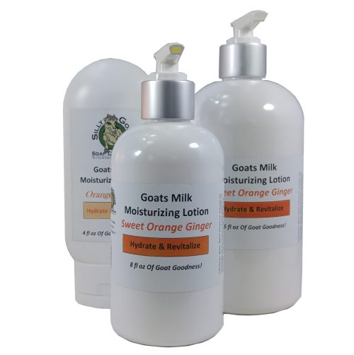 Goat Milk Lotion, Orange Ginger Goat Milk Lotion, Orange Ginger Lotion