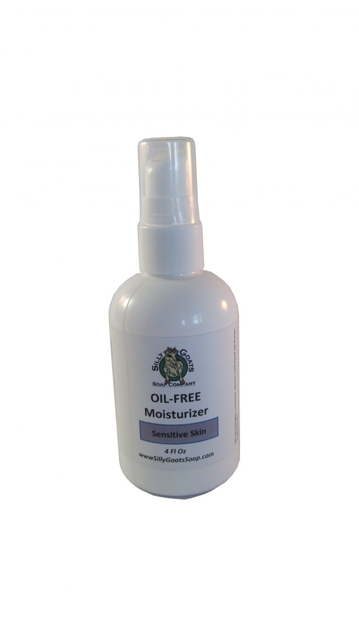 Our Face Moisturizer Is an Oil Free Moisturizer! Silly Goats Soap Company