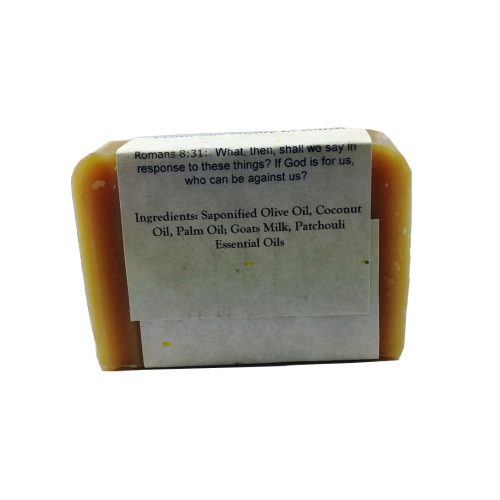 Patchouli Goat Milk Soap Ingredients - Silly Goats Soap Company
